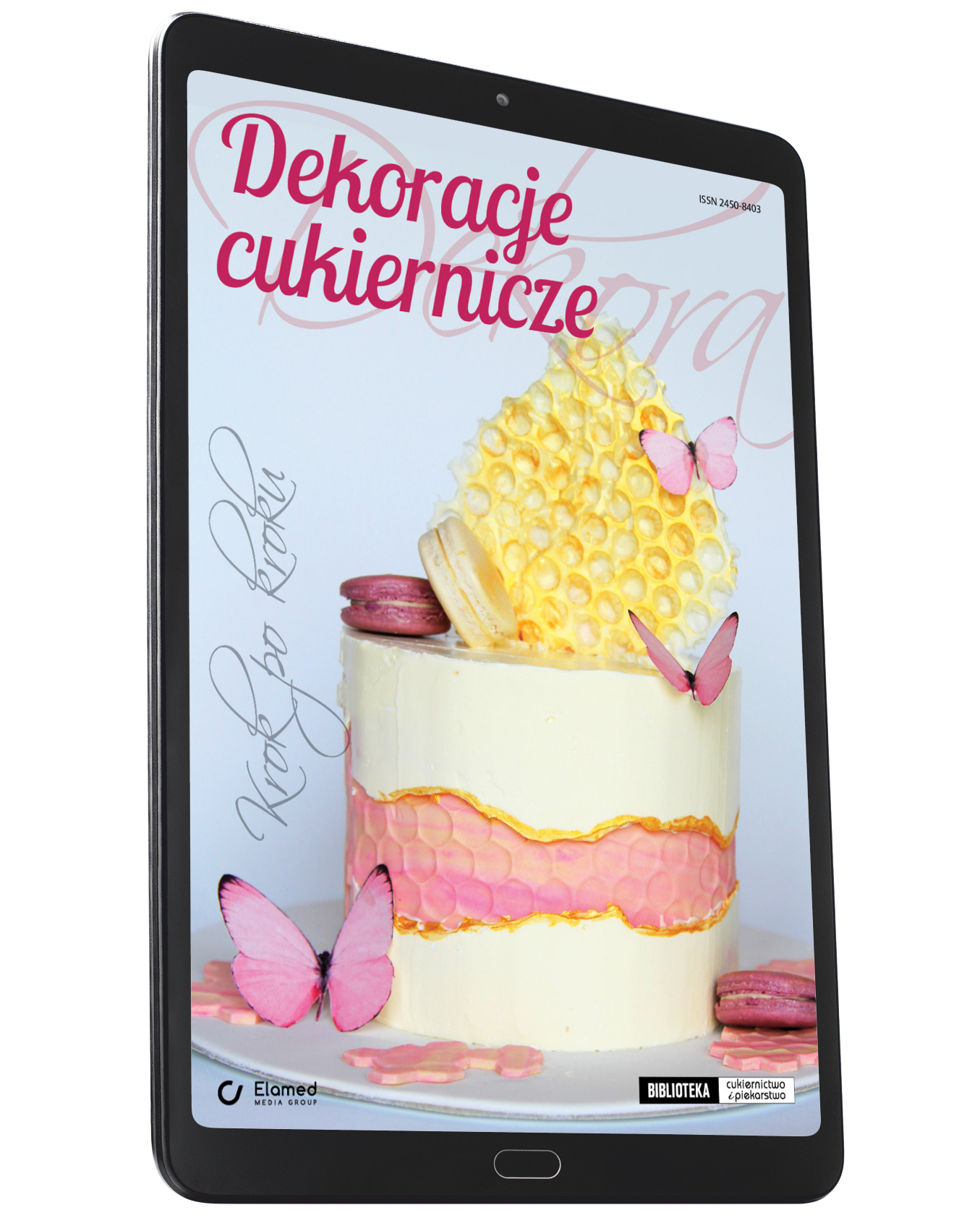 Dekoracje cukiernicze. Krok po kroku (e-book)